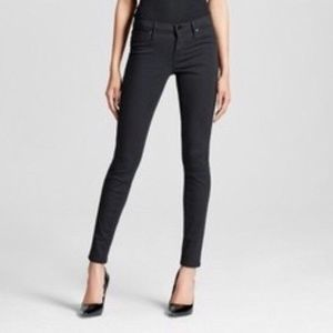Mossimo Mid-Rise Jegging NWT BLACK 6 SHORT